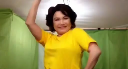 Helen Gamboa dancing Gangnam Style