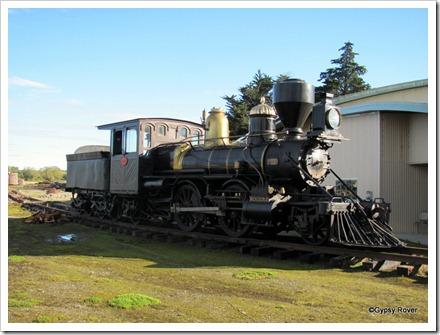 Another restored American Rogers loco recovered from a local river bed mostly intact.
