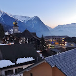 beautiful view of triestenberg in Vaduz, Vaduz, Liechtenstein