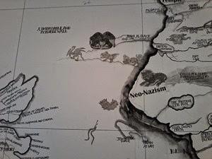 Detalhe de obra de Map de Qiu Zhigie_Bienal de São Paulo_ML2014