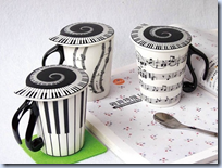 Music Coffee Cup