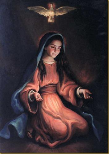 MARIA EN ORACION