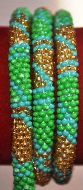 Rollover Bracelet Green Series
