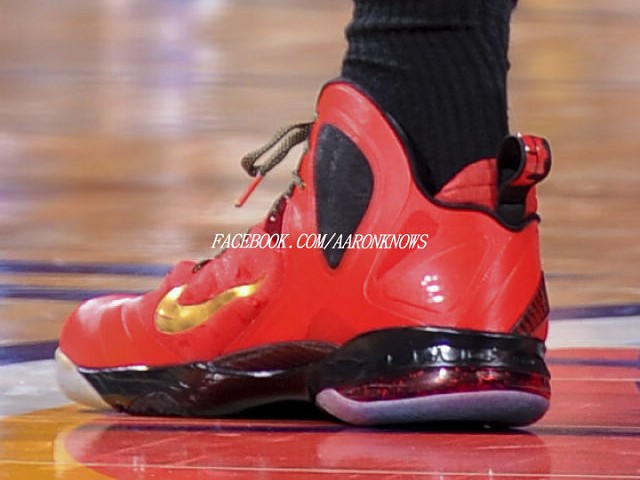 finest selection 01a74 22a94 Hight Quality Nike Zoom Lebron 9 P.S. Elite Finals Red Gold Blac