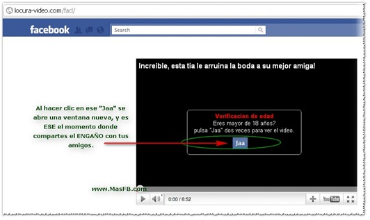 Fraude: locura-video.com   MasFB.com