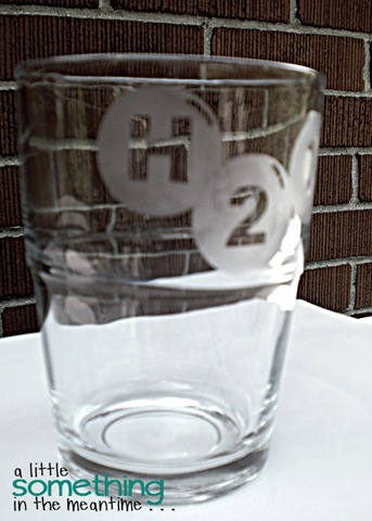 Etched Glass H2O 2 WM