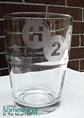 Etched Glass H2O 2 WM