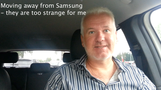 Switching from Samsung to Sony