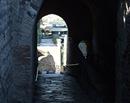 Puerta Marina O - Vista de la salida de las excavaciones desde dentro2