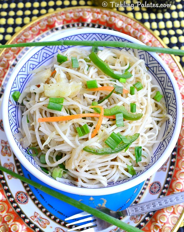 Chinese Vegetable Noodles Recipe