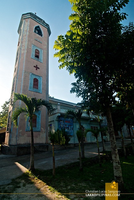Poro Church's Belfry Rising Out of the Treetops