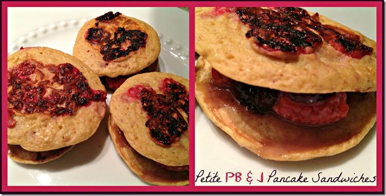 pb & j pancake sandwich