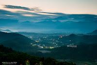 日出 金龍山