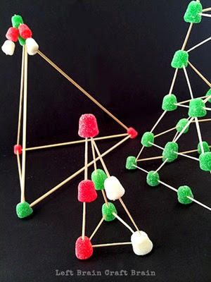 Gumdrop Christmas Trees from  Left Brain Craft Brain