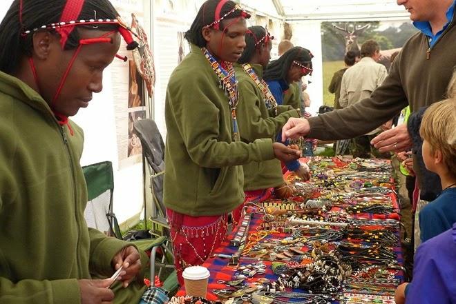 Bushcraft show, masai