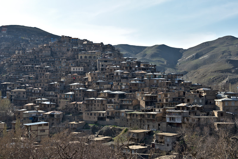 The suspended village of Kang.