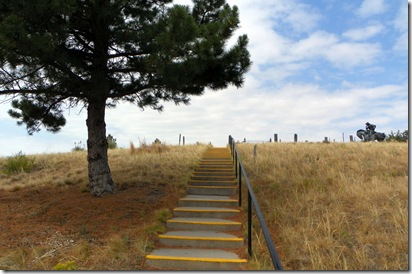 The climb to Boot Hill, Ogallala