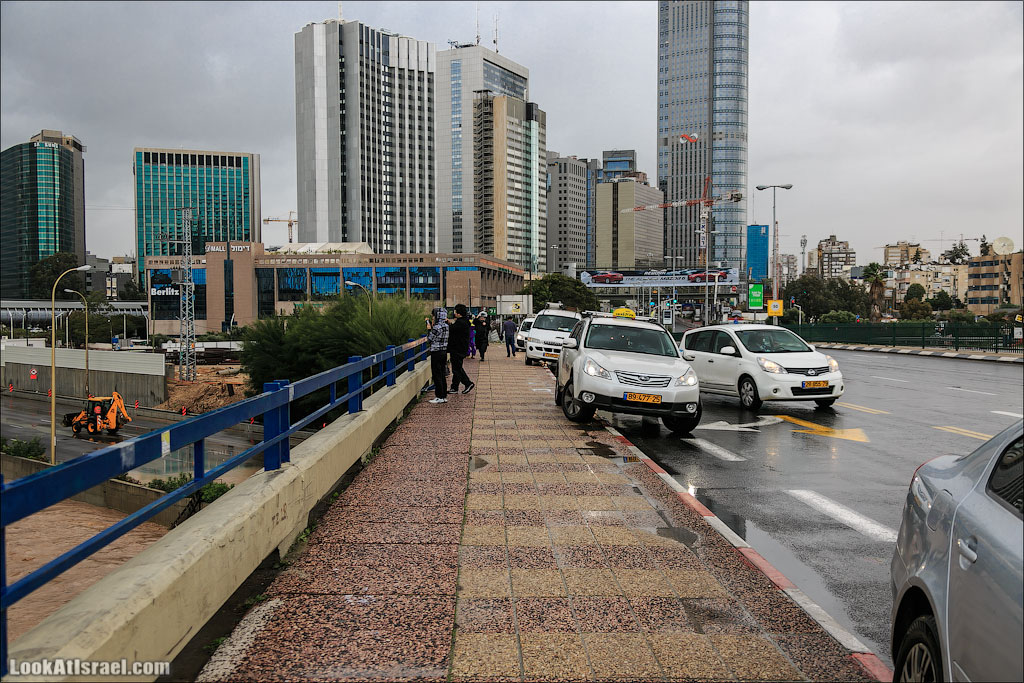 Сказ о том как одна маленькая, но гордая речка парализовала половину Израиля и весь Тель Авив (foto israel  фото тель авив и интересно и полезно дождь и снег  20130108 ta ayalon river 030 5D3 5650)