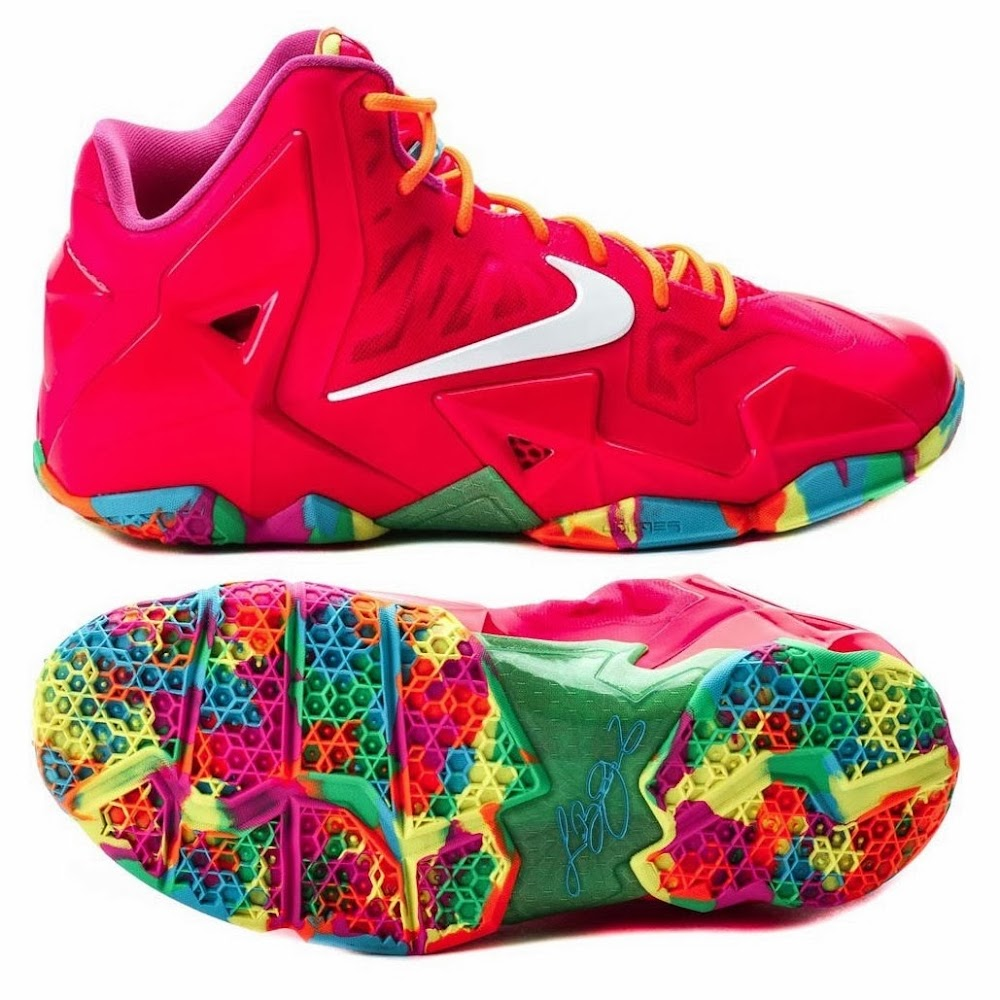 "Coming Soon: Nike LeBron XI GS ""Fruity Pebbles"" 