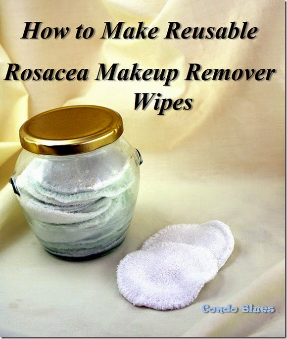 make rosasea makeup remover pads