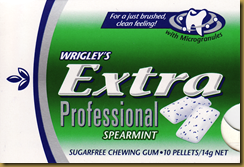 extra professional chewing gum