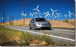 Chevy Volt and Windmills