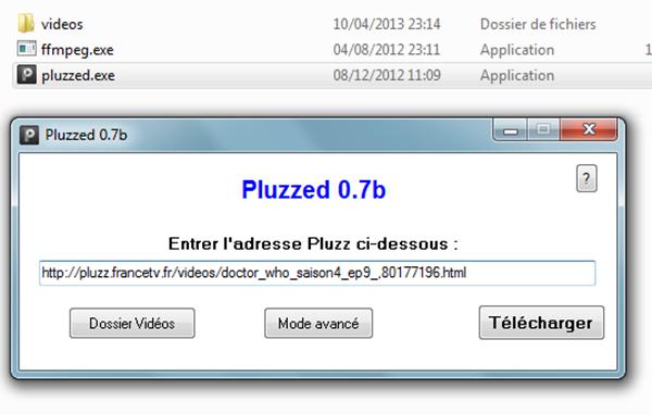 Télécharger les vidéos de France télévision sur Pluzz.fr