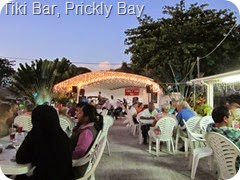 007 Tiki Bar, Prickly Bay