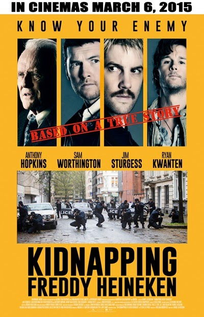 Kidnapping Freddy Heineken official poster