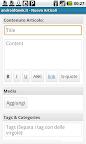 Wordpress per android - Nuovo Articolo