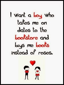 Books instead of Roses