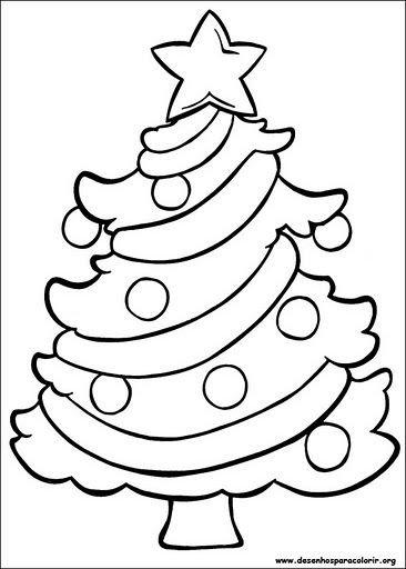 Arbol de navidad dibujo para ninos