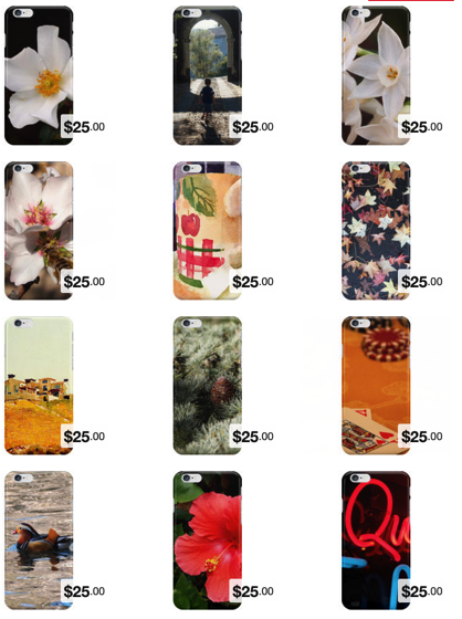 Products: Smartphone Covers made from some of my favorite photos