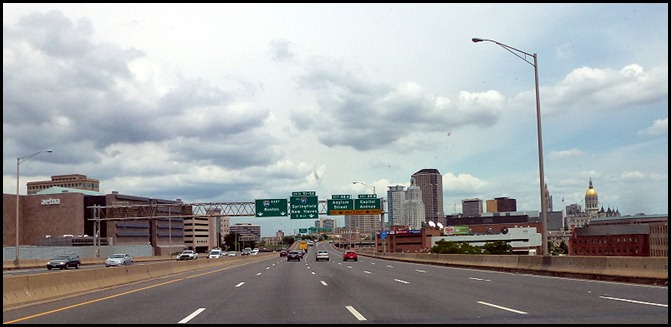 12- I-84 through Hartford