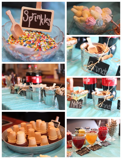 Ice Cream Social Baby Shower