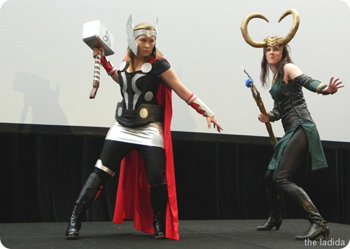 EB Expo Just 'Cos Cosplay Competition - Loki and Thor from The Avengers