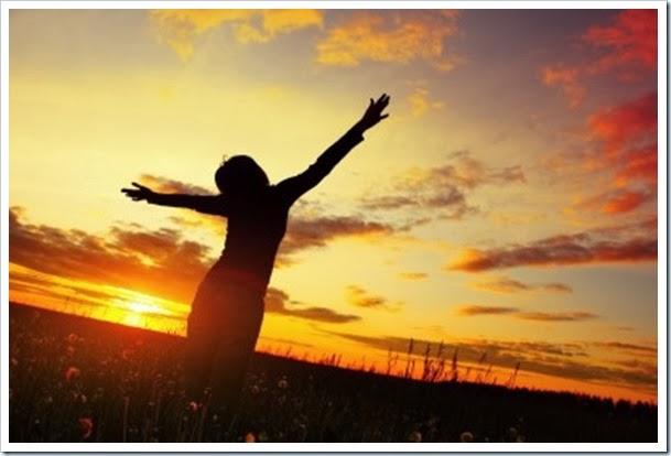 Agradecimento ao sol