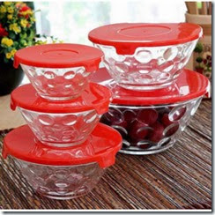 Pepperfry: Buy Roxx Dotty Bowl Set of 5 at Rs.119 only
