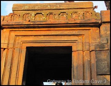Gateway to Badami Cave 3