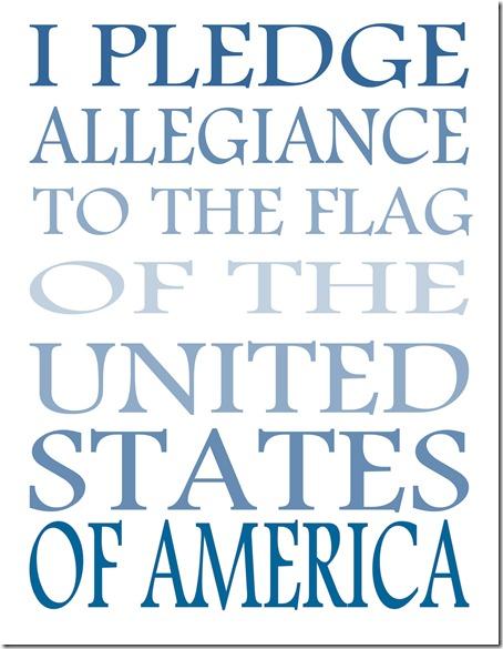 pledge 1
