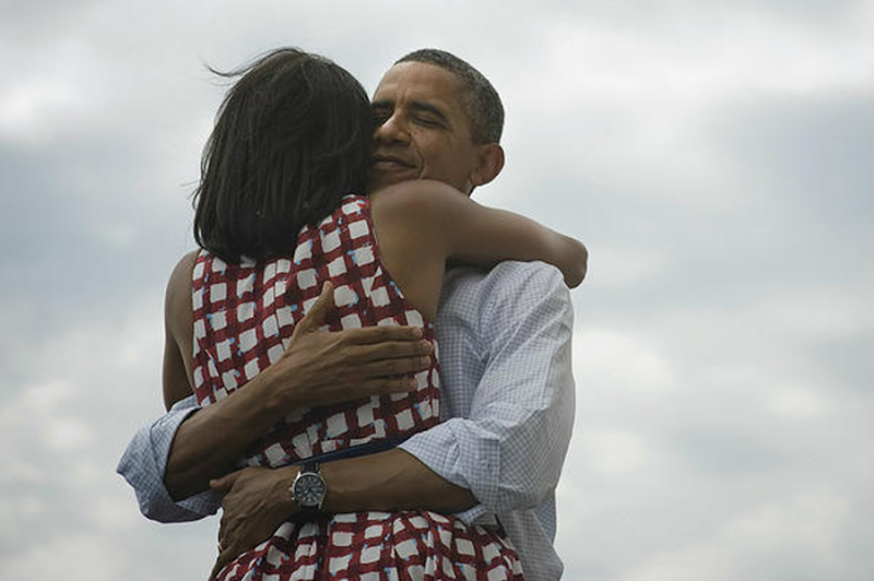 Barack and Michele four more years
