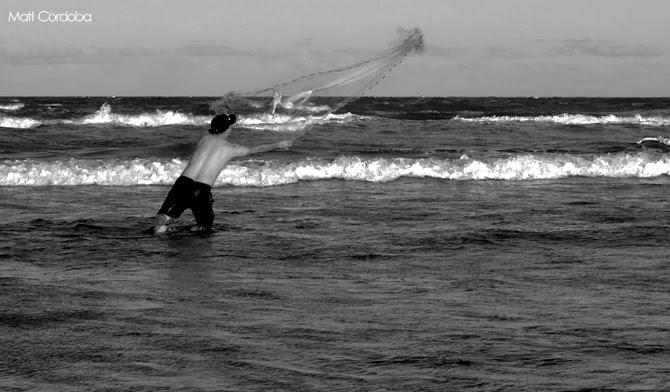 Pescaria mar peixe