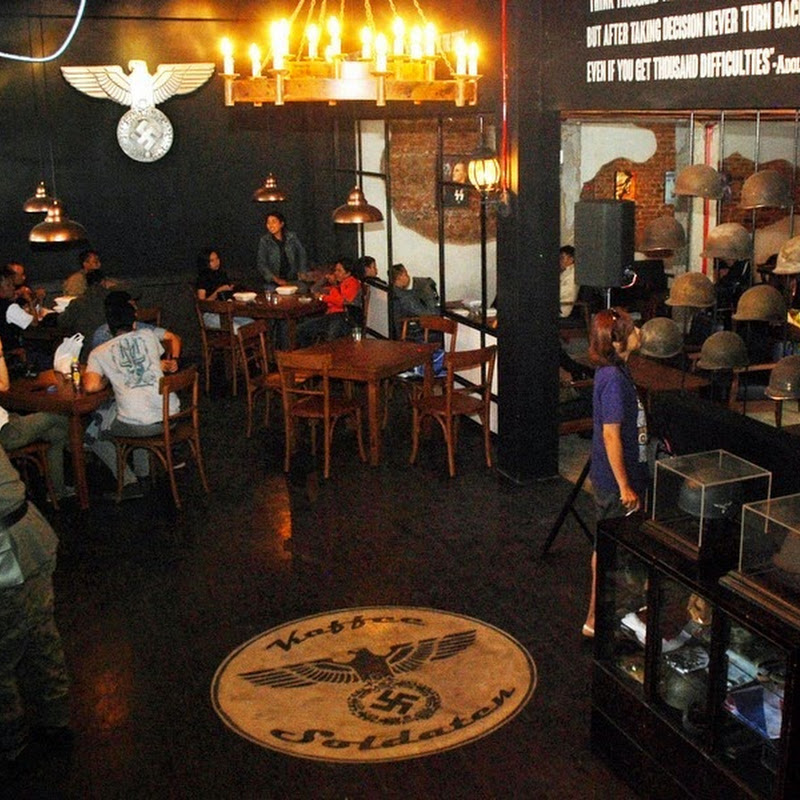 Soldatenkaffee: A Nazi-Themed Restaurant in Indonesia