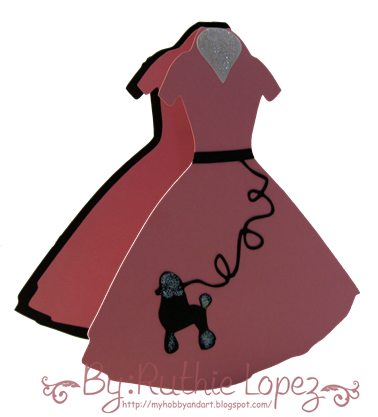 poddle dress - 50's party - cumpleorlis - Ruthie Lopez