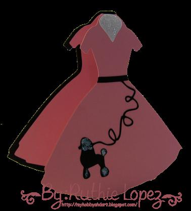 poddle dress - 50's party - cumpleorlis - Ruthie Lopez