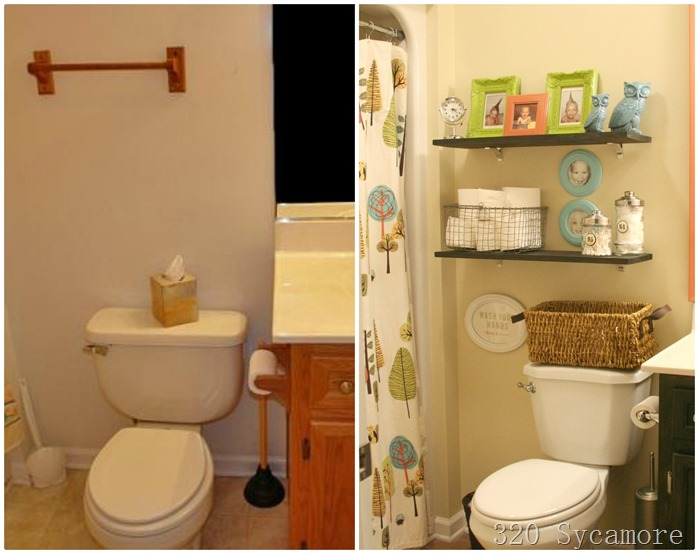 kids bath before after