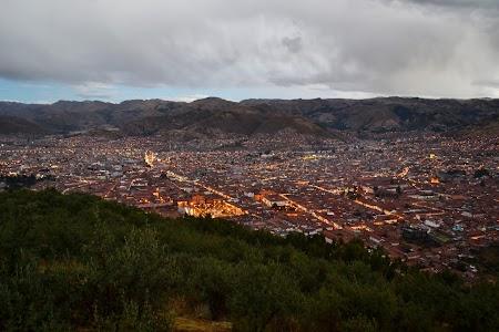 Cusco noaptea