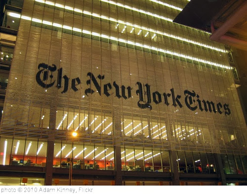 'new york times' photo (c) 2010, Adam Kinney - license: http://creativecommons.org/licenses/by/2.0/