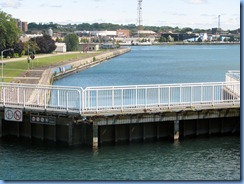 5059 Michigan - Sault Sainte Marie, MI -  St Marys River - Soo Locks Boat Tours - inside the Canadian recreational Lock