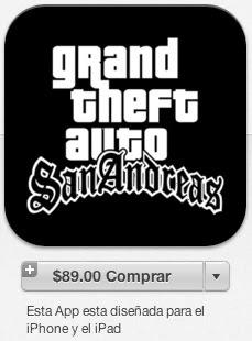 GTA SA iTunes